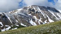 Square Top Mountain from Mt Wilcox 28-Jun-2014