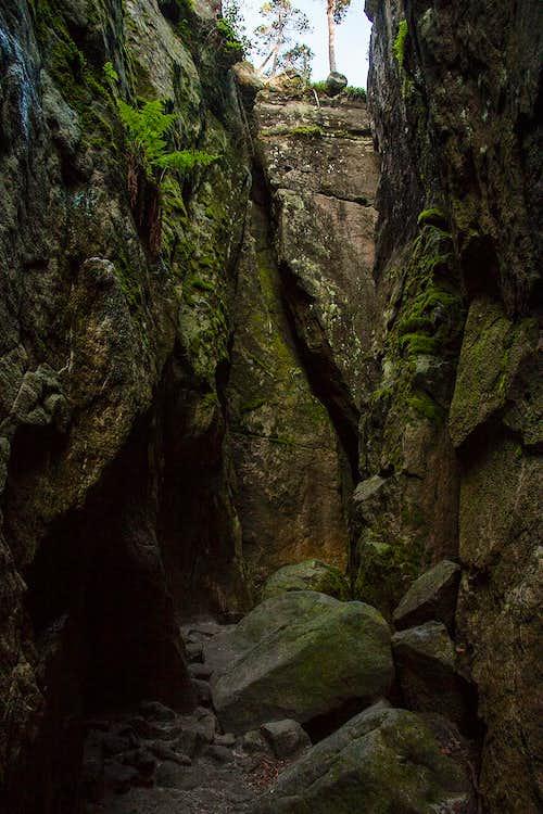 Piekielko gorge
