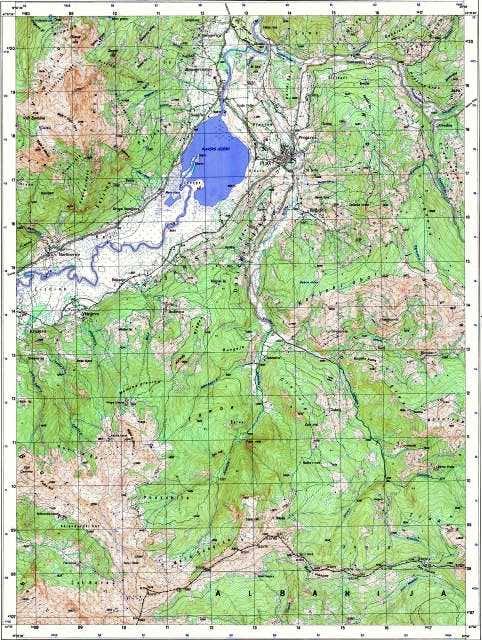 Galcial lake Plav and...