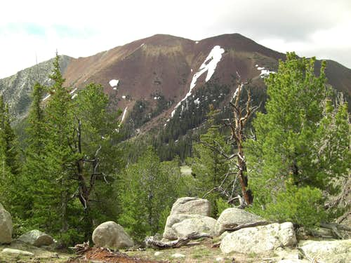 Red Mountain from High Meadow.