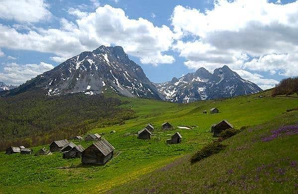 Amazing landscape of Komovi...