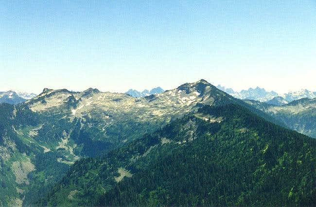 Lennox Mountain from the...
