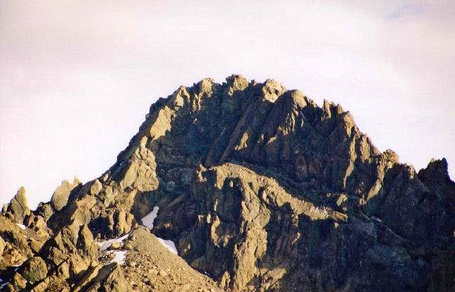 Ingalls Peak (North Peak) as...