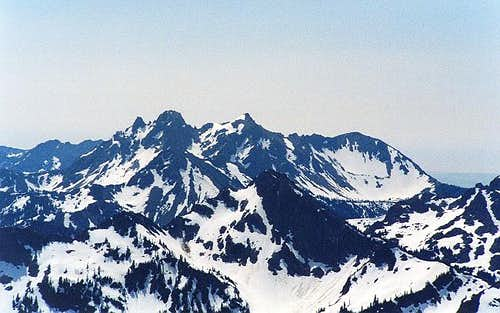 Ingalls Peak as seen from The...