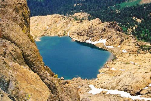 Ingalls Lake (6,463 ft) from...