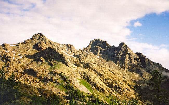 Ingalls Peaks on the morning...