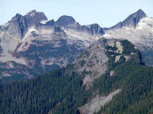 Ulalach Peak from Voodoo Peak