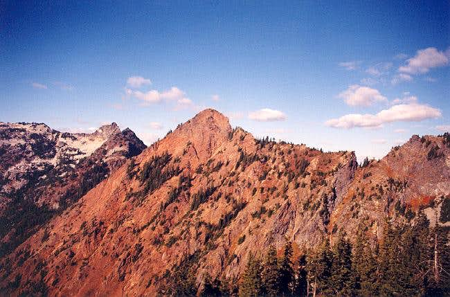 Red Mountain as seen from the...