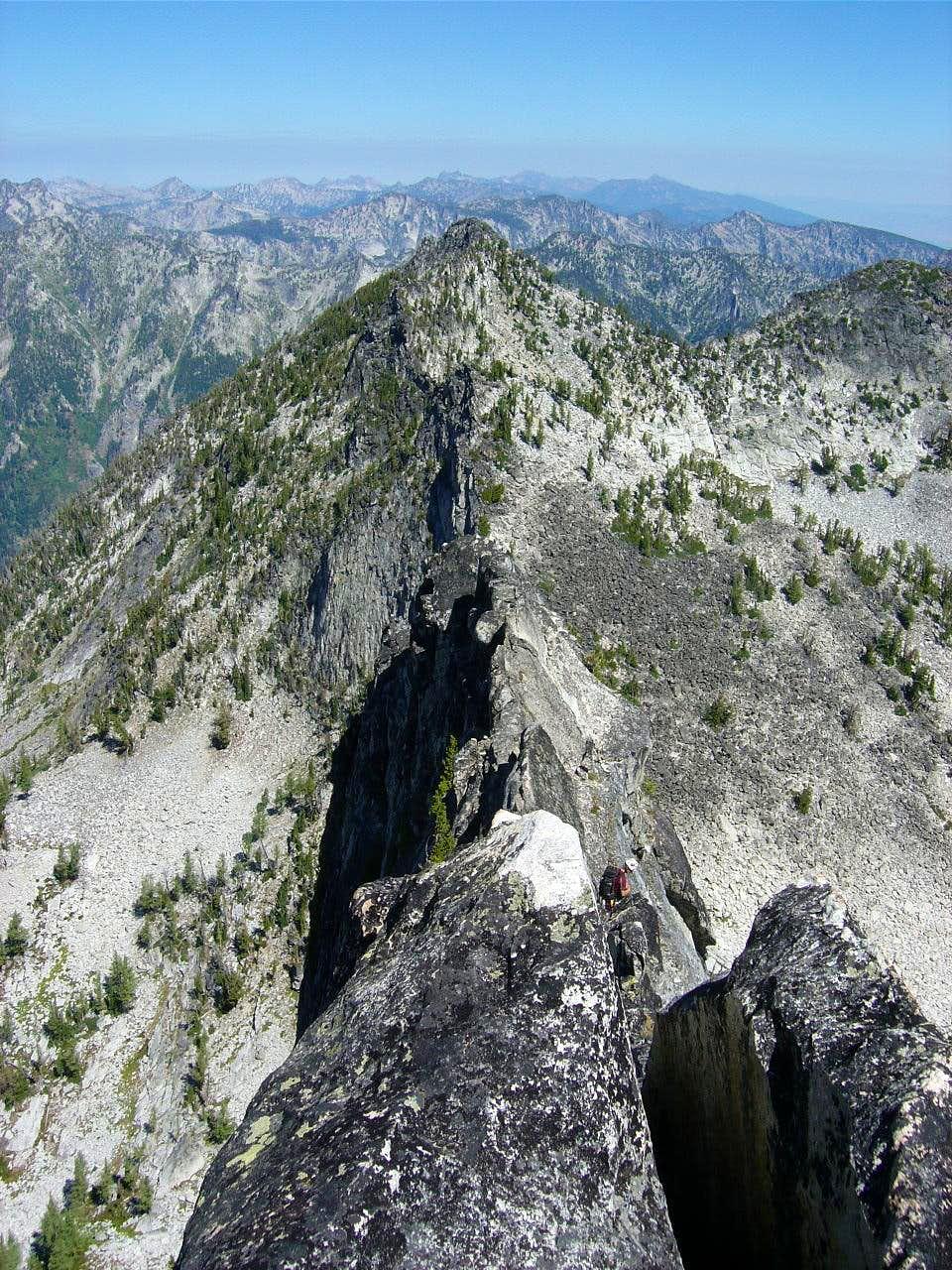 Canyon Peak Knife Ridge