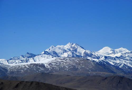 Peaks in Spiti Valley