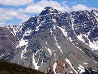 Pyramid Peak from Buckskin...