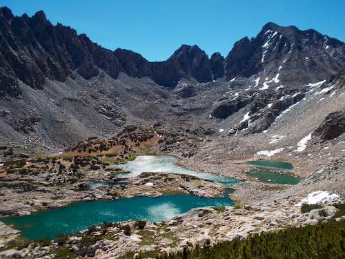 Bishop Lake from Mount Goode