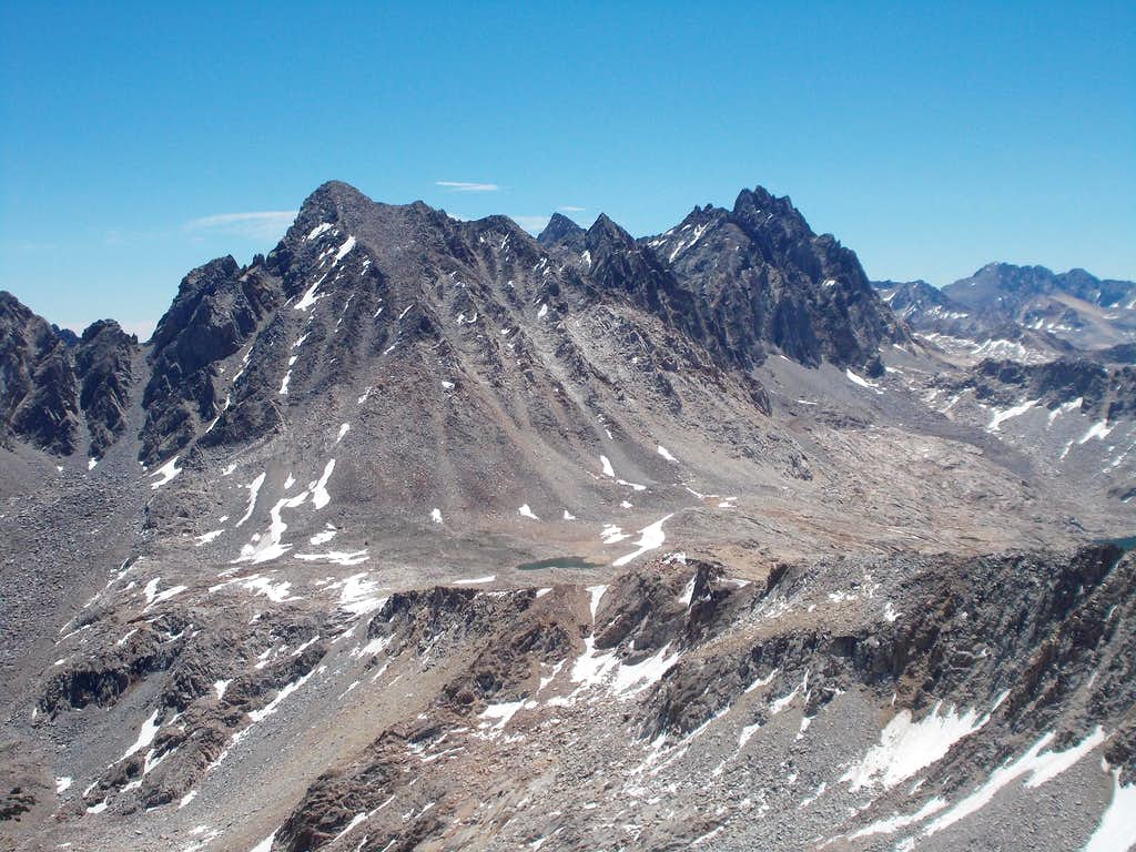 Mount Agassiz and North Palisade
