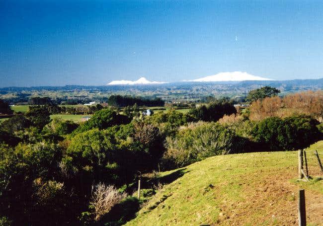 Mountains of Tongariro...