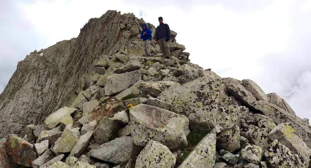 Pfeifferhorn descent