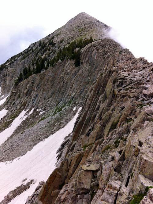 Ridge from Upwop