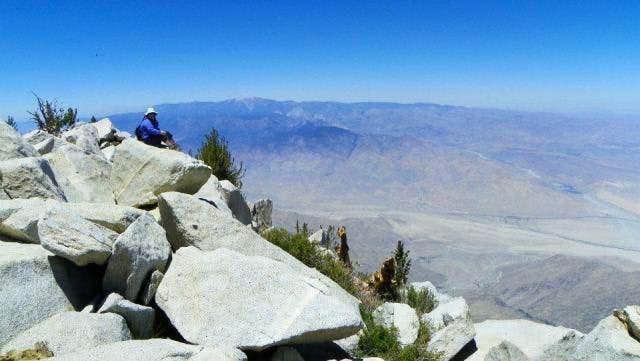 Me on the top of San Jacinto!