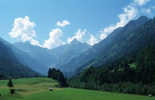 Trettachspitze from the...