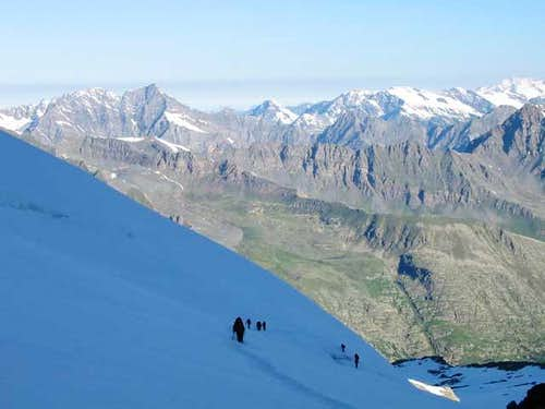 Gran Paradiso, en route from...