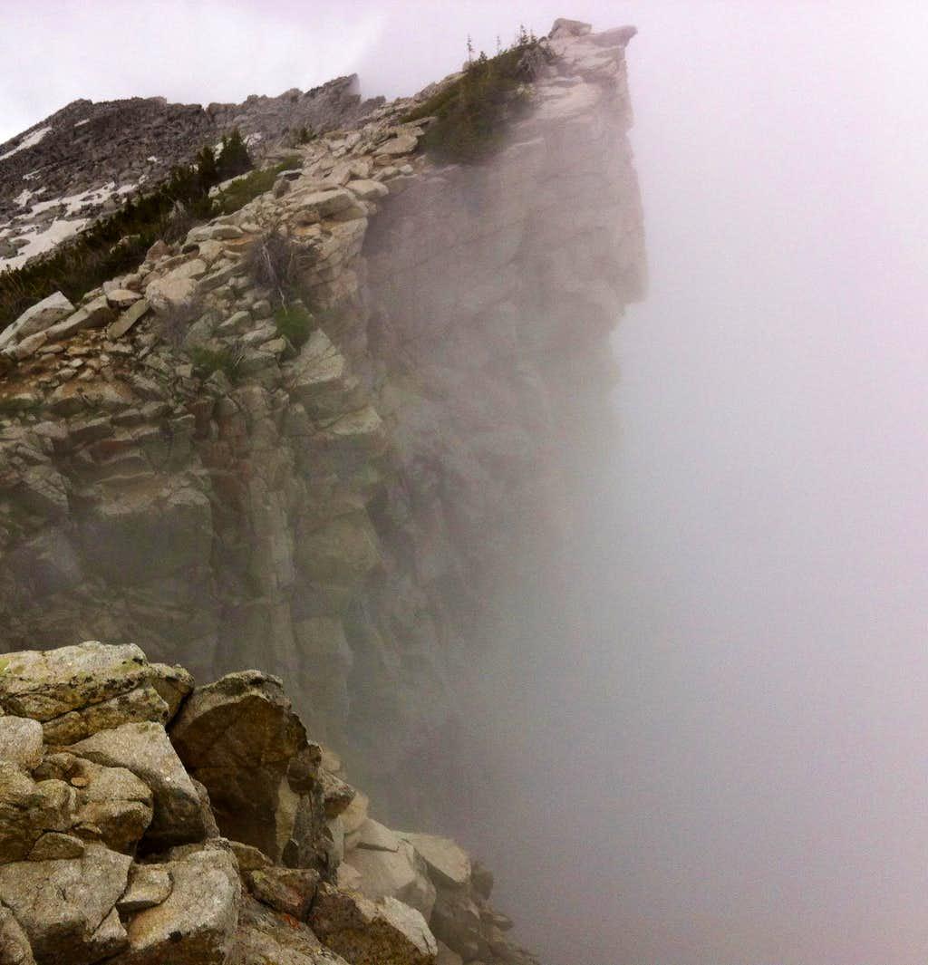 Lightning Ridge eastern end cliff