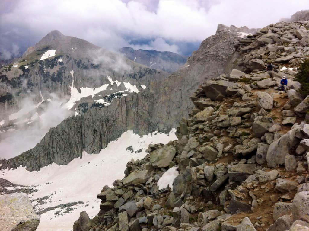 Pfeifferhorn from Lightning Ridge