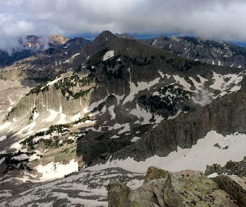 Pfeifferhorn from Thunder Mountain
