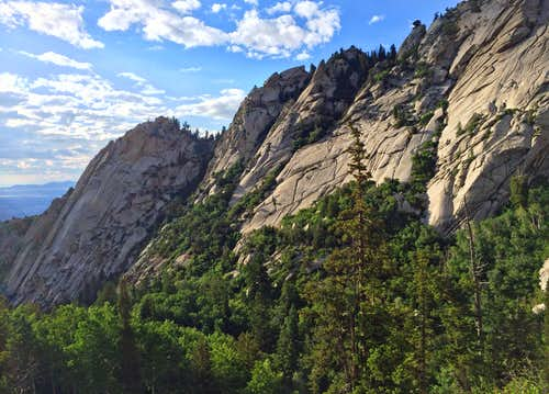 Bells Canyon granite