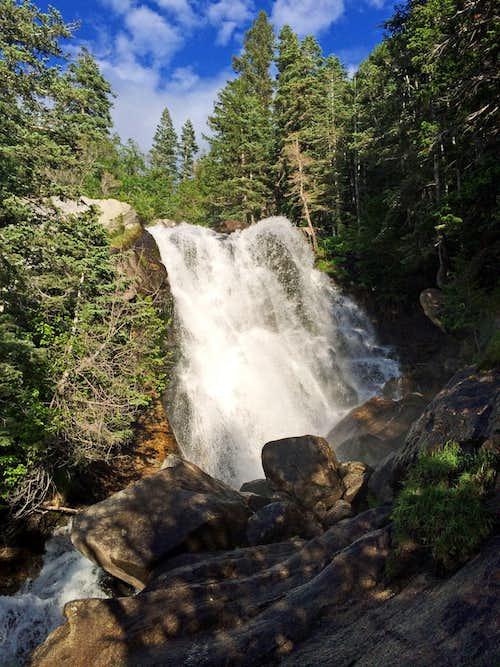 Lower Bells Canyon waterfall