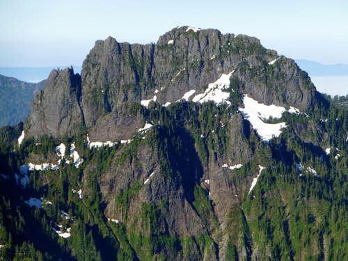 Mount Phelps from Red Mountain Benchmark