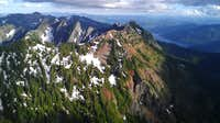 Kendall from Red Mt traverse.