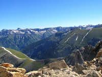 The 14ers Uncompahgre and Wetterhorn