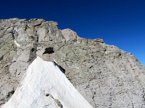 The summit of Palmyra Peak