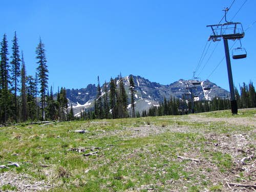 Palmyra Peak & Silver Mountain