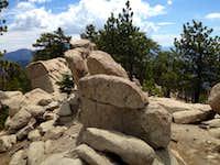 Summit of Waterman Mountain
