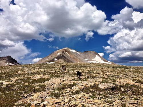 T 10 - east ridge