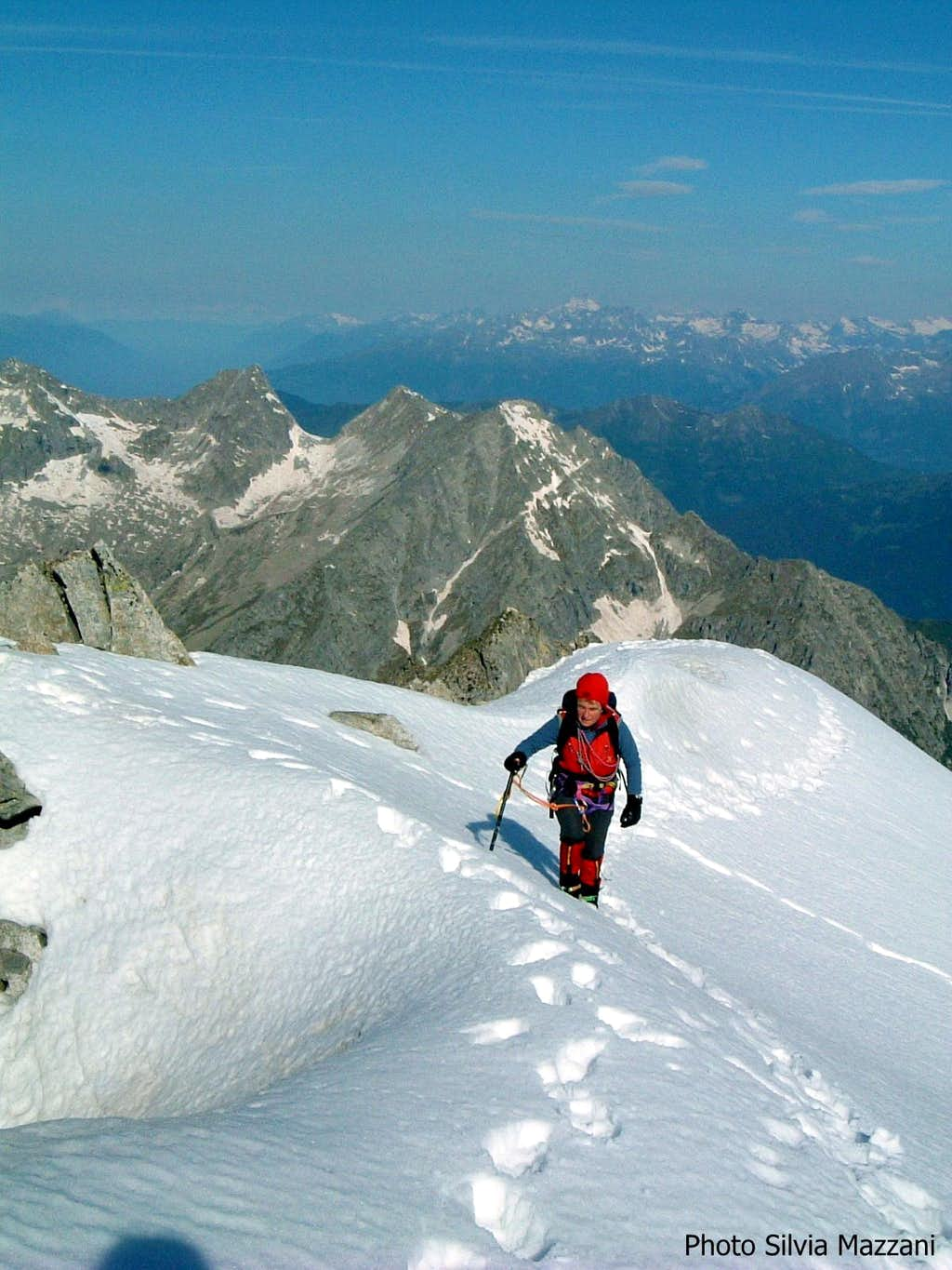 Cima Calotta summit ridge