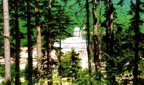 Decani is a monastery on...