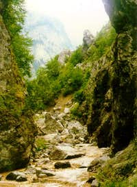 The rugovo gorge is very...