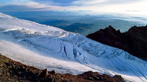 Mt Rainier Glacier