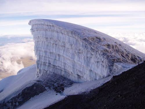 One of the glacier\'s many...
