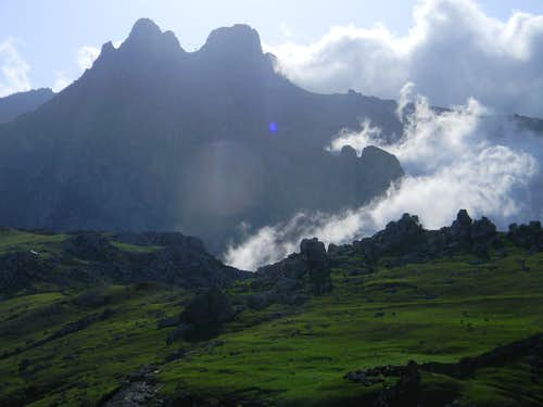 High Peaks of the Haghier Mountains
