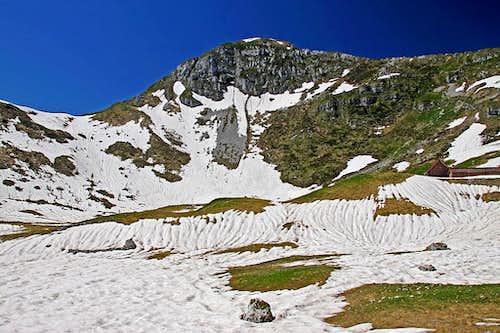 Monte Verzegnis from the N-NE