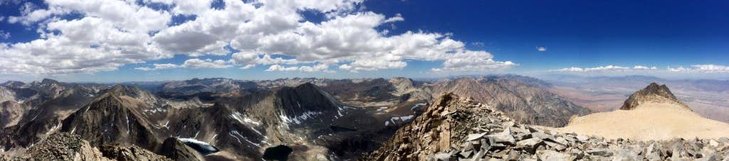 pano from the summit of Williamson