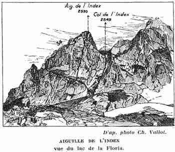 Topo of the Aiguille de L'Index