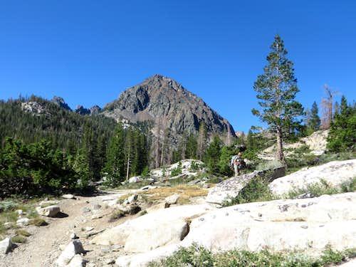 Gabbro Peak from the Green Creek Trail