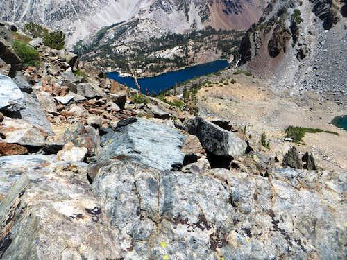 East Lake from Gabbro summit