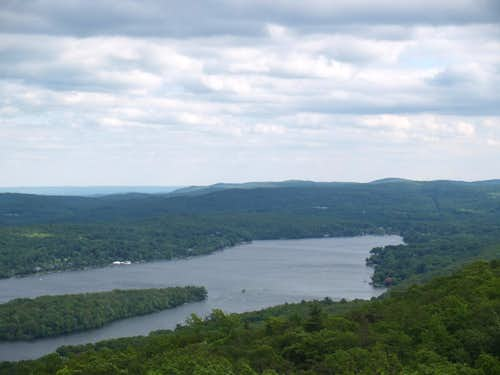 Wyanoke Plateau from Bearfort Mountain