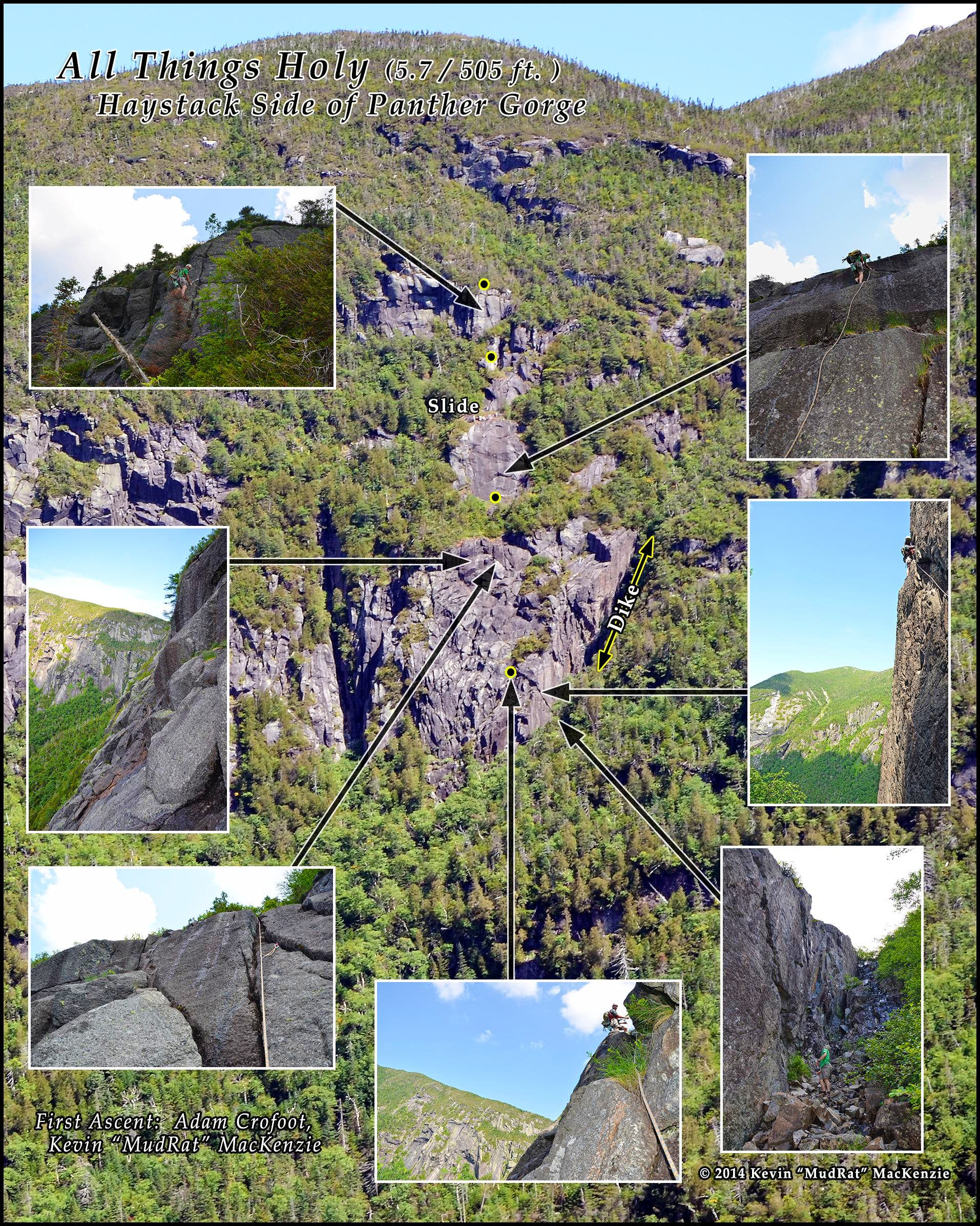 All Things Holy in Panther Gorge: A New Route on the Haystack Side
