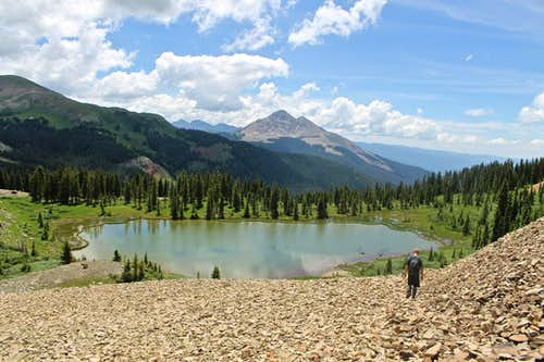 The Lake below Grizzly Peak B