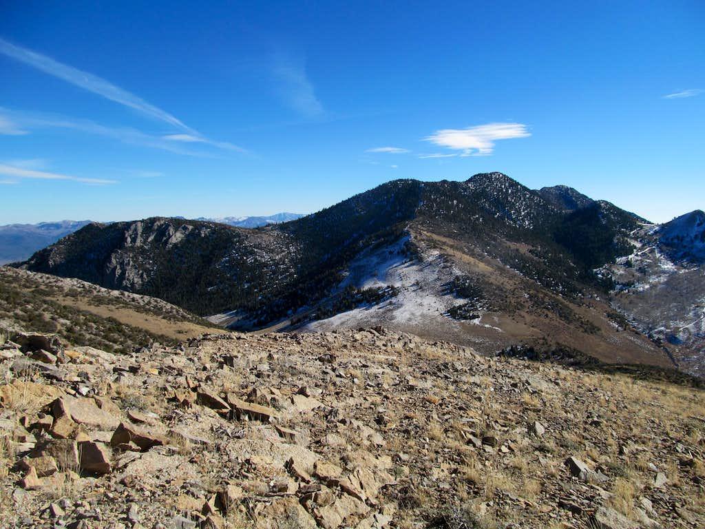 peak south of Telegraph